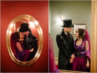 Zalina & Lee  | Perth Steampunk Wedding Photos